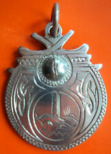 Attractive Irish Silver Medal / Watch Fob / Pendant - 1957 Dublin - not engraved