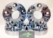 ▶ 4 JEEP JK WHEEL SPACERS 5X5 HUBCENTRIC 1.5 INCH 38MM RUBICON WRANGLER 5X127 ◀