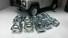 Land Rover Defender ASR1459 Bulkhead Door Hinge Metal Captive Spire Nut Clip x8