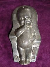 Super antique baby chocolate mold with reg mark