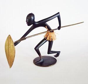 Hagenauer Warrior Spear & Shield African/Native American