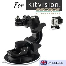 Car Suction Cup for Kitvision Escape 4KW Escape HD5W Escape HD5 Action Camera
