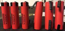 "Brand New ""6""  Panasonic NCR18650GA 3500mAh 10A 18650 Battery, w/ Tabs"