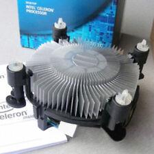 Desktop Computer CPU Cooler Heat Sink Fan 4 Pin For Intel LGA 1156 1151 1155 775