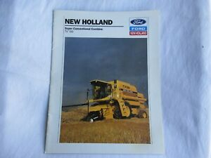 1994 Ford New Holland TX66 combine brochure