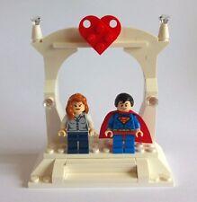 Unique Superman e Lois Lane LEGO wedding cake topper/Regalo