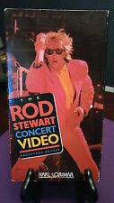 THE ROD STEWART CONCERT VIDEO BACKSTAGE ACCESS 1989 VHS VIDEO w/FACES, JEFF BECK