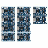 10Pcs 5V mini USB 1A 18650 TP4056 Lithium Battery Charging Board With Prote I3E7