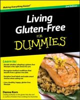 Living Gluten-Free for Dummies, Paperback by Korn, Danna; Fasano, Alessio, M....