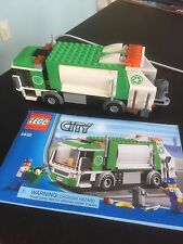 LEGO City 4432 GARBAGE TRUCK with instruction (No Minifigures)
