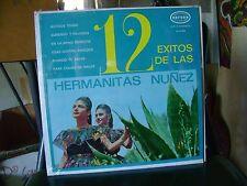 STILL SEALED TEX MEX LATIN LP~HERMANITAS NUNEZ~12 EXITOS DE LAS~on ORFEON~HEAR