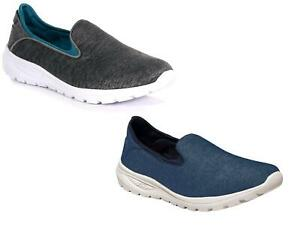 Regatta Womens Marine Slip-On Light Trainers Outdoor Walking Gym Shoes