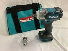 """Makita 18V XWT11 Brushless 1/2"""" Impact Wrench 3 Speed & Tool Bag (New From Kit)"""