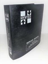 Hyster Electric E30b E120b Service Manual 599798 D1471