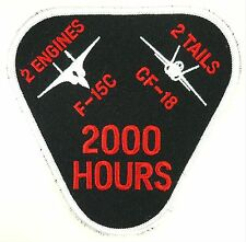 USAF 44th FS 2000 HOURS PATCH