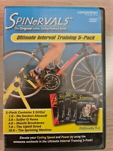 SPINERVALS Ultimate Interval Training 5 Pack DVD (5 discs) All Regions