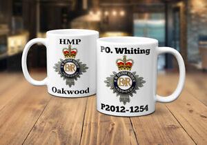 Prison Service Personalised Coffee/Tea Mug