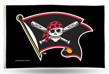 "Pittsburgh Pirates Jolly Roger MLB Banner Flag 3' x 5' (36"" x 60"") ~NEW"
