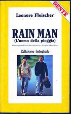RAIN MAN(L'UOMO DELLA PIOGGIA) - LEONORE FLEISCHER (Ediz. Integrale)