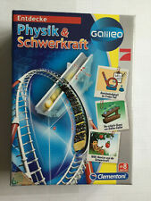 Clementoni 69403, Galileo Physik & Schwerkraft, Experimentierset, Neu, OVP