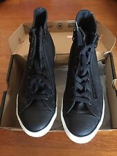 NEW Big Kids Leather Converse Chuck Taylor All Star High Top Sneaker, Size 5