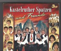 3 CD Kastelruther Spatzen und Freunde - 3 CD-Box - NEUWARE IN FOLIE