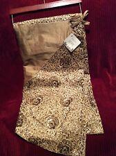 """NEW Gorgous GOLD Sequin & Thread Christmas Tree Skirt by Dillards Trimsetter 60"""""""