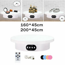 Turntable Display Stand Remote Control Revolving Holder For Collectibles