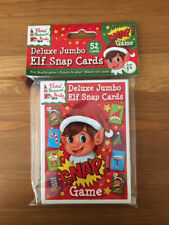 Deluxe Jumbo Elf Snap Cards Classic Game Christmas Xmas Stocking Filler Novelty
