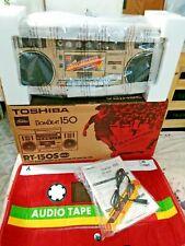 BRAND NEW!! TOSHIBA BOMBEAT RT-150S - STEREO RADIO CASSETTE RECORDER - WORK!!!
