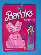 1985 Fashion Fun 4 Barbie Doll Pink Knit Dress w/ Heart Belt #2091 New Nrfp