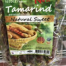 Thailand Natural Seedless Dried Sweet Nine Tamarind Individually Plastic Wrapped