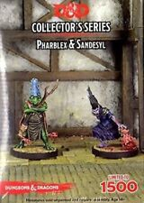 D&D Miniatures Collector's Series - Sandesyl and and Pharblexx *NEUF/NEW*