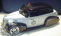Jada Toys 1939 Chevy Chevrolet Master Deluxe Police 1/24 No. 96391