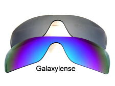 Galaxy Replacement Lenses for Oakley Batwolf Blue&Titanium Polarized 2 PAIRS