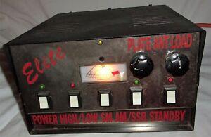 Estate Vintage R F Elite Chrome Metal Linear?SSB Amplifier Transformer CB XERON