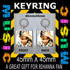 RIHANNA  TALK THE TALK CD COVER KEYRING