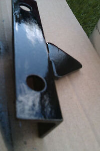 gate catch door latch for metal iron gates reversible smooth black finish