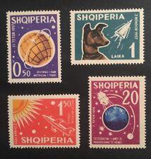 Albanien 1962 Weltraumforschung Mi-Nr. 663/66 postfrisch