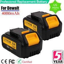 2x For Dewalt DCB200 20V Battery XR Lithium-Ion MAX 4.0Ah DCB204-2 DCF885 DCD980