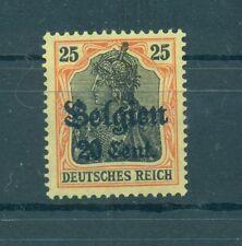 BELGIUM - GERMAN OCCUPATION 1914/18 Mi. 17 20C