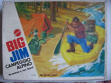 BIG JIM 9416 CAMPEMENT CAMPEGGIO ALPINI NEUF AVEC BOITAGE EN BON ETAT 1975