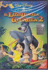 Dvd Disney IL LIBRO DELLA GIUNGLA 2 bollino tondo ologramma nuovo 2003