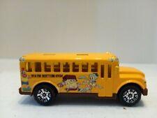 Matchbox 2002 School Bus - SpongeBob SquarePants Bikini Bottom High