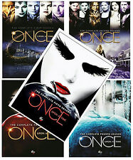 ONCE UPON A TIME Seasons 1-5 Complete TV Series DVD Seasons 1,2,3,4,5 BRAND NEW