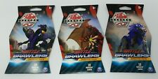 Lot of 3 Bakugan Battle Brawlers Booster Pack Collectible 10 Trading Cards