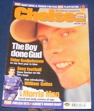 CHELSEA - THE OFFICIAL MAGAZINE JULY 2001 - THE BOY DONE GUD