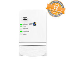 BT Wi-Fi Extender 300 Broadband Range Booster Secure Network Adapter Home White