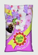 2x Baby Bio Orchid Plant Feeding Compost With Added Nutrients for Orchids - 5l