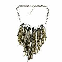 Halskette Abend Kette Statementkette Charms Necklace Collier L452
